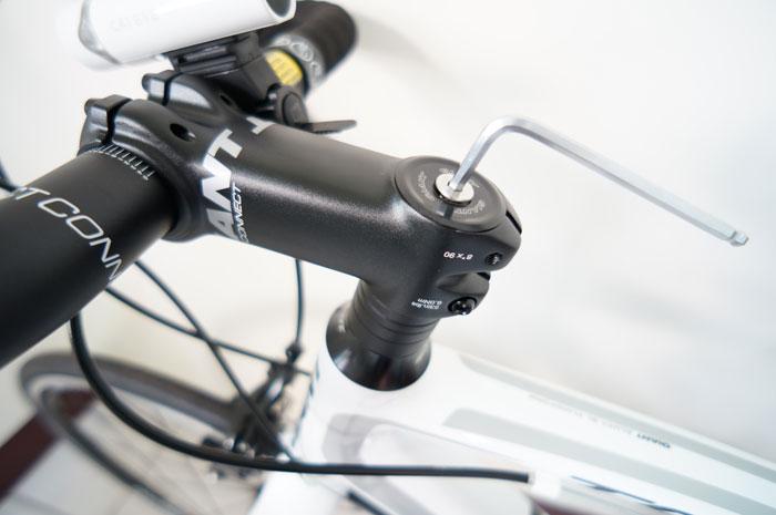 「一把抓」自行车龙头避震器