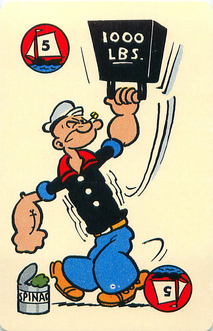 卡通人物超强肌力代表,卜派 flickr