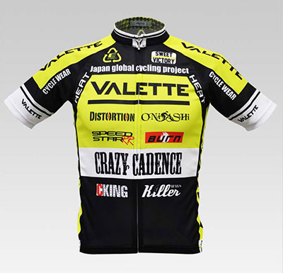 VALETTE A-Line短袖車衣 黃色