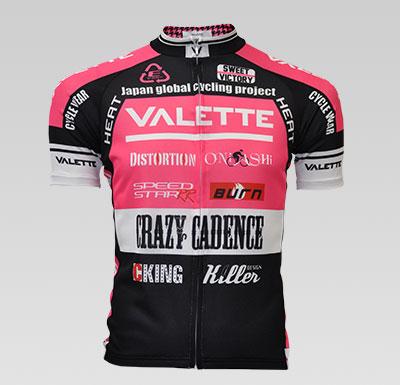 VALETTE A-Line短袖車衣 粉色