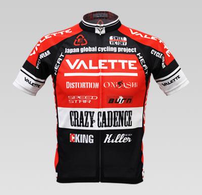 VALETTE A-Line短袖車衣 紅色