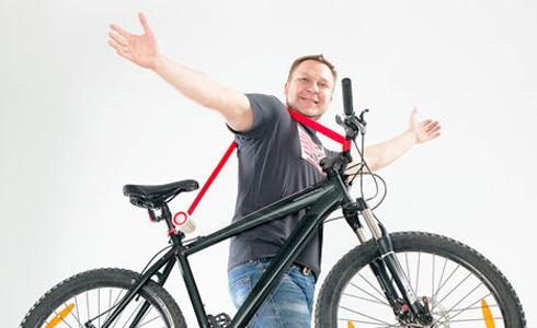 單車上肩背著走:Bike Lift & Carry
