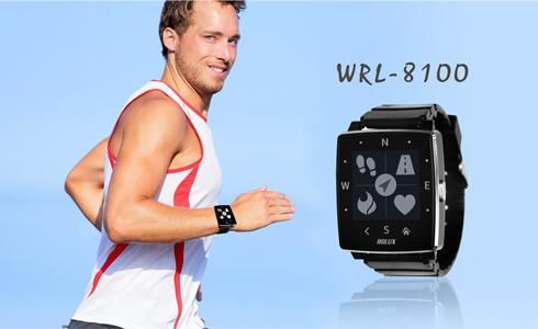 HOLUX發表首款穿戴式智慧型裝置:WRL-8100