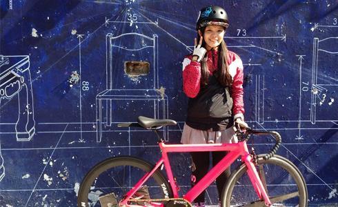 騎上單速車去旅行:江櫻花