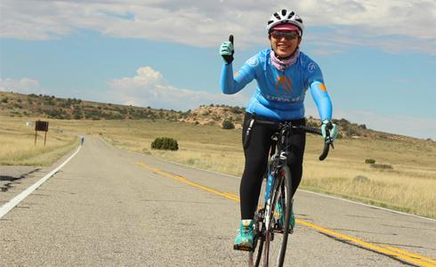 打造山上的自行車王國:謝昀芷(Sally)