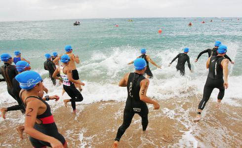 亞洲盃澎湖鐵人三項113km 西班牙選手奪得男子組冠軍