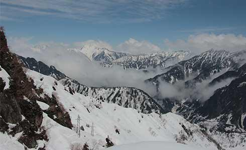 立山黑部落玉塵 永生難忘的雪景入眼簾