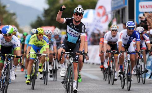 Etixx車隊展現默契 Cavendish贏得環土耳其第一站