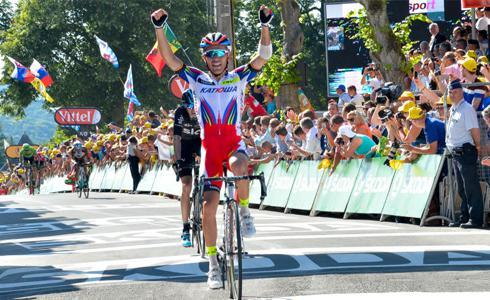 Joaquim Rodriguez強力攻頂 環法第三站勝利入手