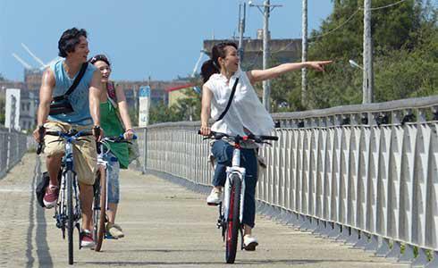 黃河、紀培慧再度合作 電影吹起單車風