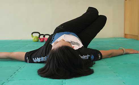 單車時代 - 增肌點線面 第六步:腰部(一)