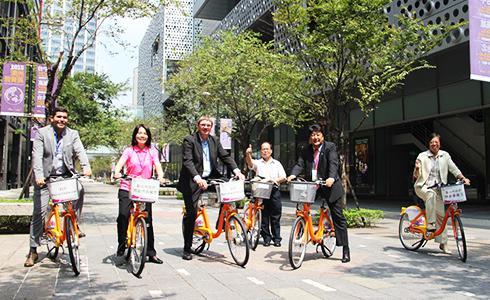 發電自行車「騎」進台北歐洲學校