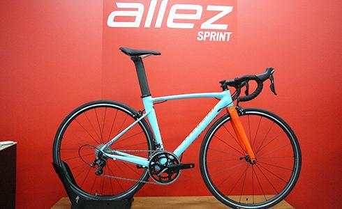 單車時代 - Specialized Allez Sprint 競技級鋁合金車款上市