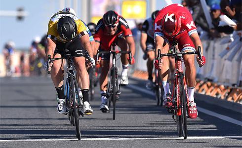 復仇成功 Kristoff以些微之差擊敗Cavendish