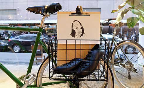 單車時代 - 走!去車店吃美食、看展覽:C.D.P