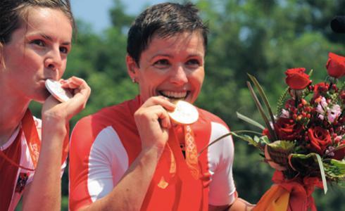 奧運兩甲子 MAGURA與Sabine Spitz再造傳奇
