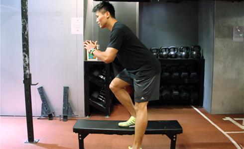 肌肉改造秘笈(8)不出門就能練腿力