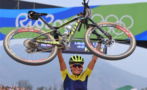 【女子XC】瑞典22歲小將Jenny Rissveds初登板勇奪金牌
