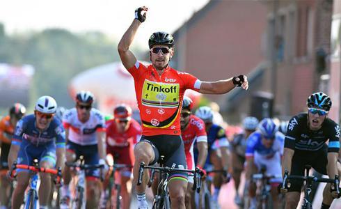 穿越千軍萬馬 Sagan鑽出Eneco第三站勝利