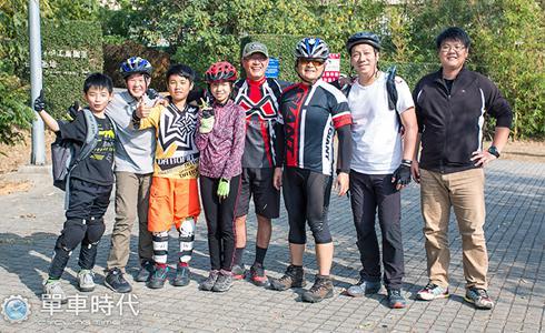|MTB冬令營|跳躍吧孩子!第一次騎車就上手
