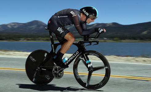 2000米的高原计时 Dibben成为环加州第六站最速男