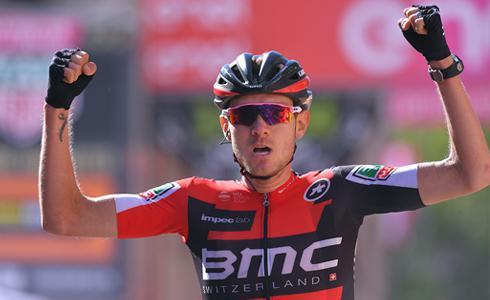 Van Garderen終於以環義第十八站 寫下生涯首個三大賽勝績