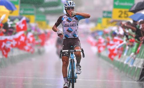 环瑞士第六站 队友后方牵制 Pozzovivo雨中夺胜