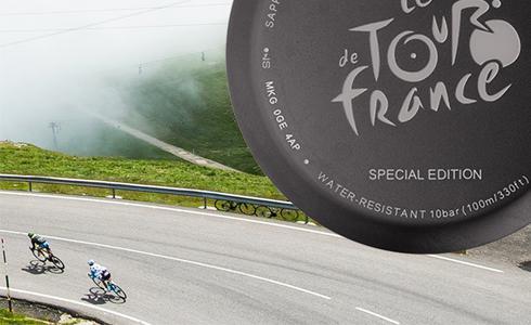 黄风再起 天梭表推出2017环法自行车赛特别系列计时腕錶