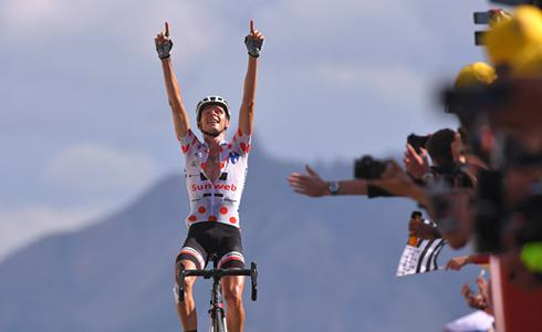 入手第二胜 奠定登山王 Barguil成为环法十八站最大赢家