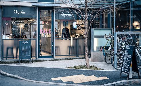 探索自行車衣品牌名店—RAPHA TOKYO
