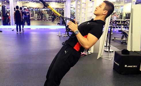 重訓後的核心接續訓練 TRX懸吊式阻抗運動