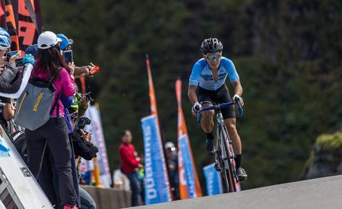 生涯高峰 彭源堂成為台灣最速爬坡車手