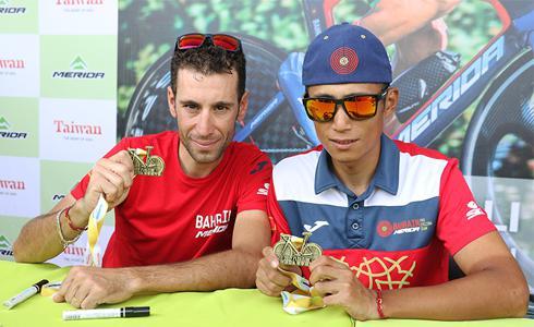 2017八卦山脈美利達盃 三大賽滿貫Vincenzo Nibali來台共襄盛舉