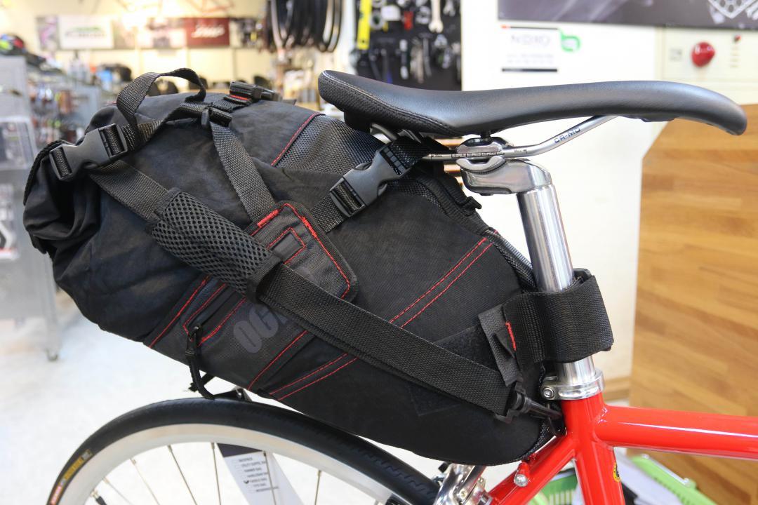 善用車架空間 單車包包無所不在