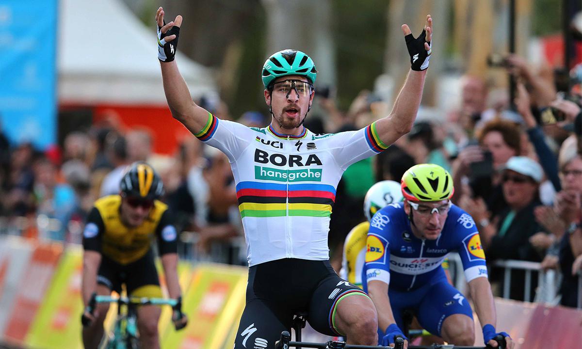 彩虹衫發威 Sagan搶下新賽季首場賽事勝利