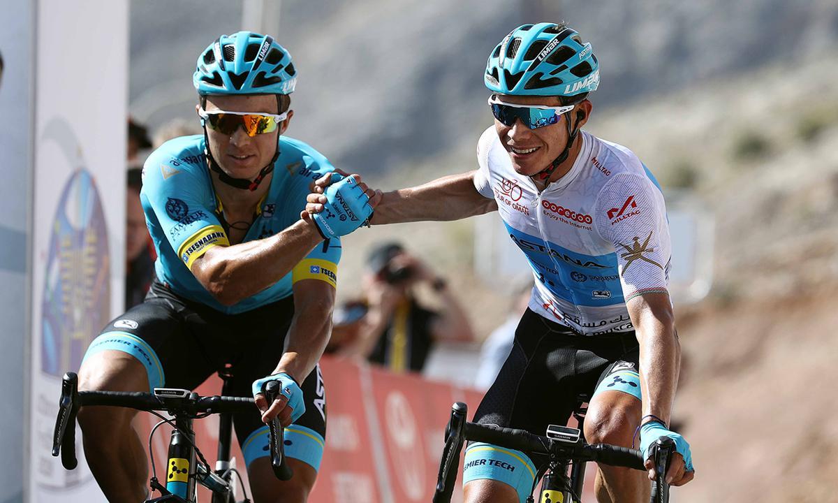 壓倒性勝利 Astana雙俠Lopez與Lutsenko共享環阿曼關鍵站