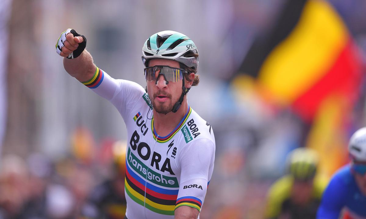 彩虹衫发威 Sagan夺走Gent-Wevelgem冠军
