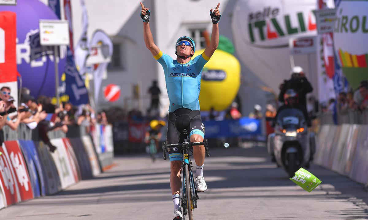 Sanchez拿下環阿爾卑斯第四站 Astana車隊勝率75%