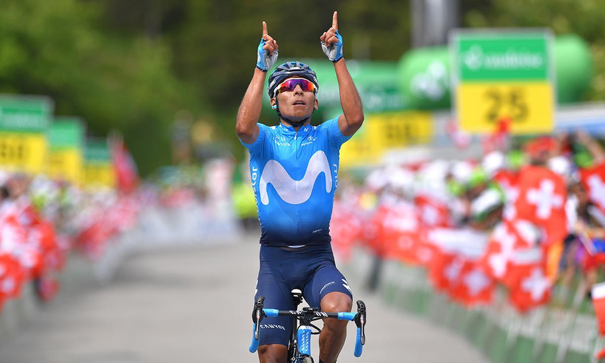 環瑞士七站 Nairo Quintana最後路段獨推奪冠