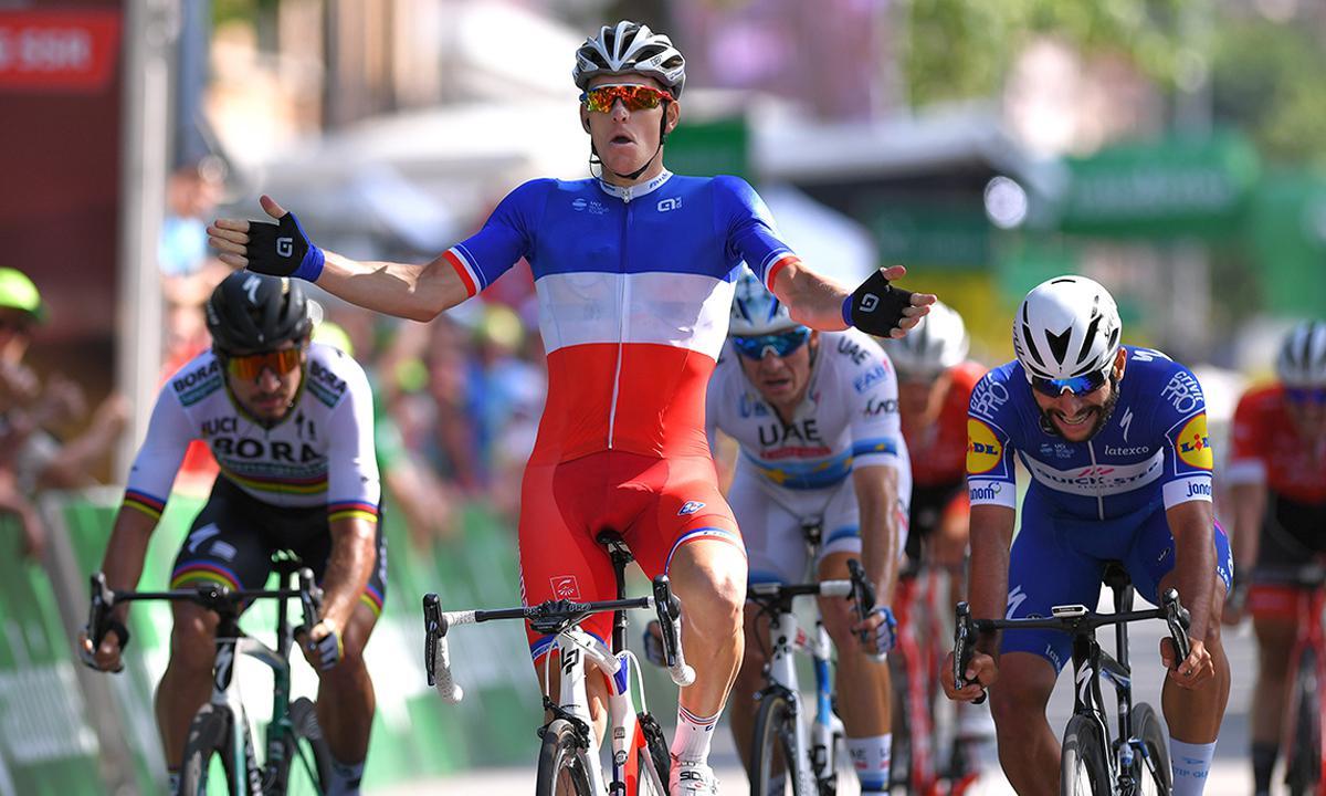 環瑞士第八站 Arnaud Demare中線穩當加速奪冠