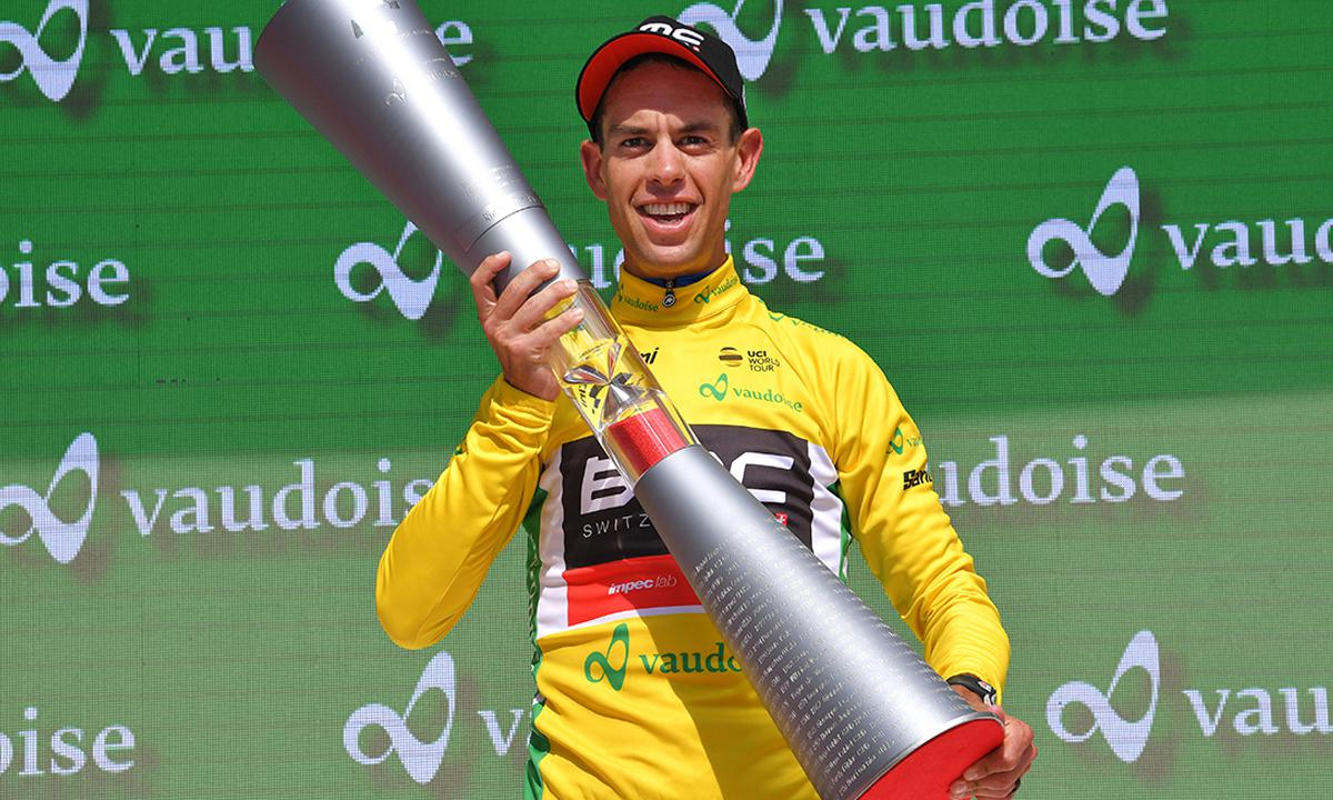 环瑞士自行车大赛结束 Richie Porte笑纳冠军