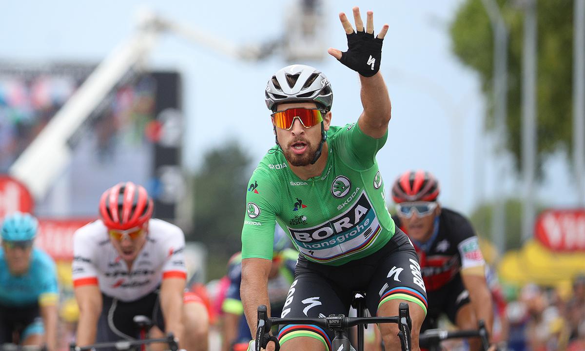 穩住節奏 Sagan環法第三勝快意入袋