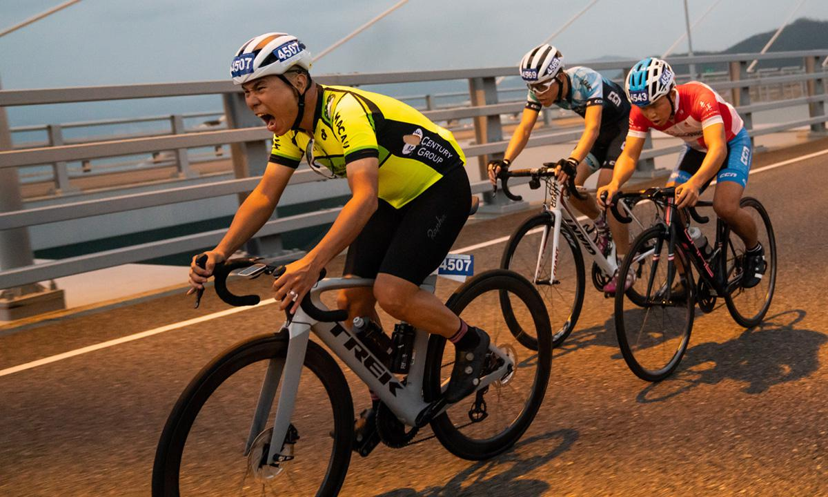 香港单车节搭配Hammer香港站 享受奔驰的快感