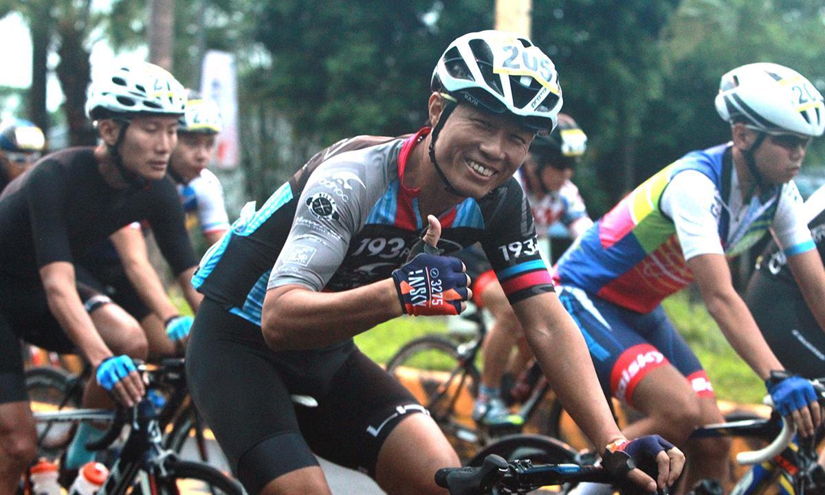 花蓮在地好手楊少驊 贏得花東海灣盃自行車賽首日冠軍