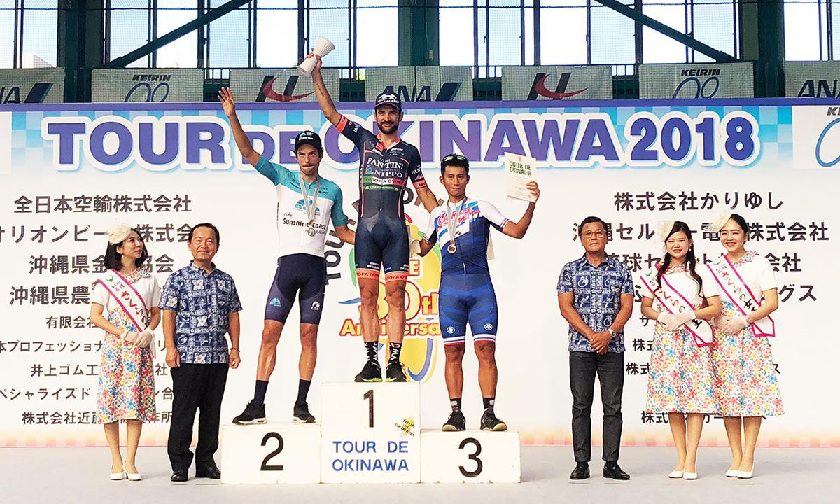 環沖繩自行車賽 馮俊凱長距離突圍摘第3