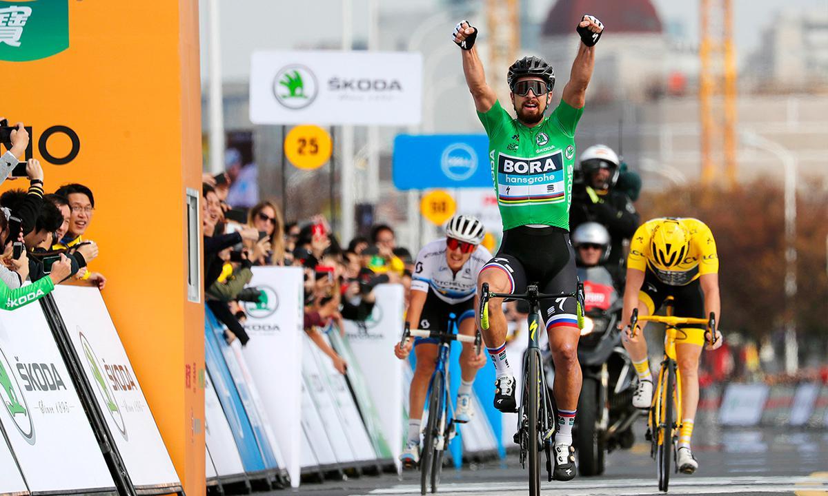 Sagan征服東方明珠 成為環法上海繞圈冠軍得主