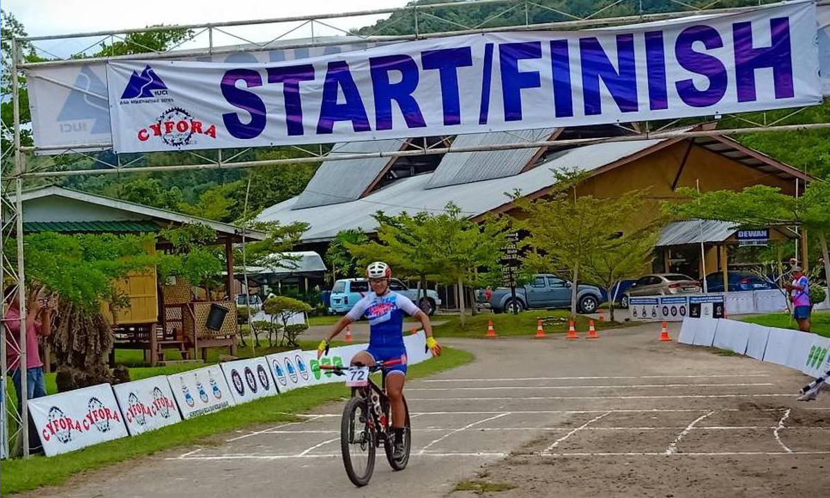 逆轉戰局 蔡雅羽於登山車巡迴賽馬來西亞沙巴站後奪下年度冠軍