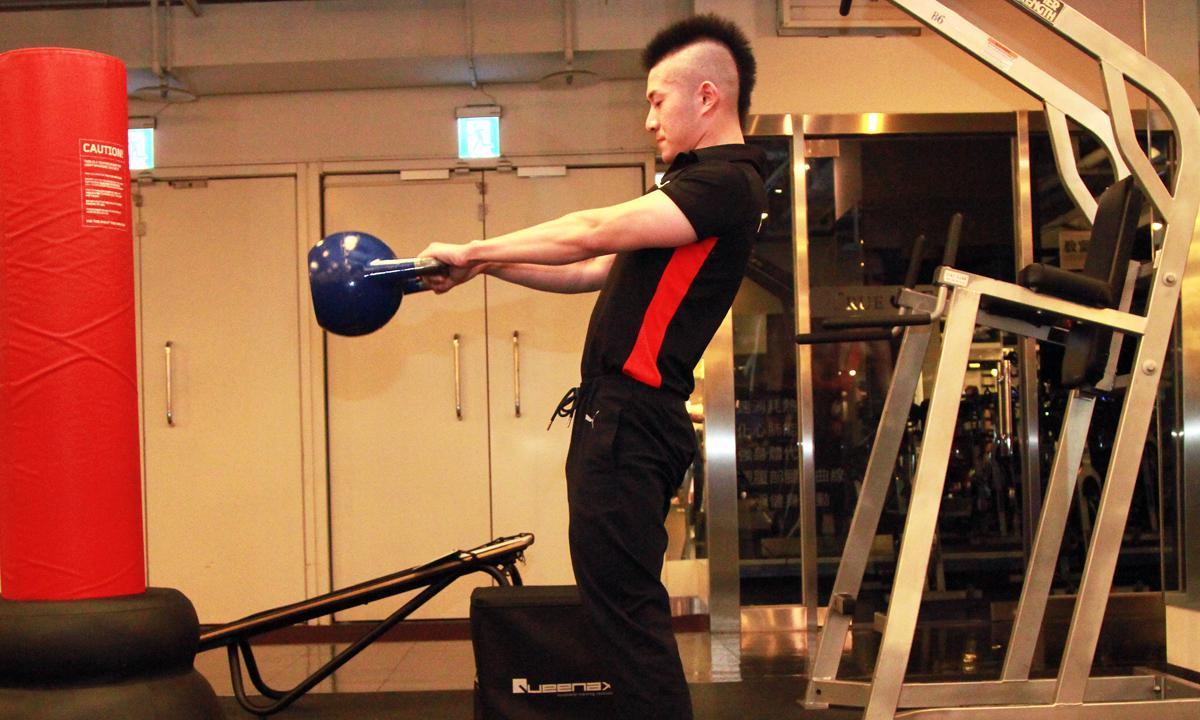 增強騎車能力的下肢訓練(4)—練一套最流行的壺鈴