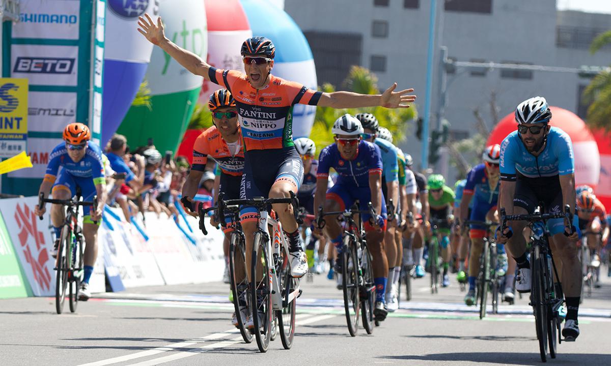 70公里高速進站 Lonardi收下環台賽第五站