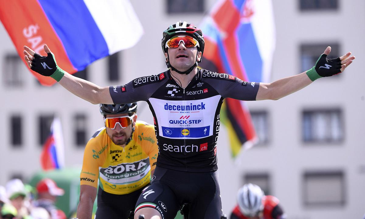 Viviani二度力压Sagan 环瑞士二连胜快意入手